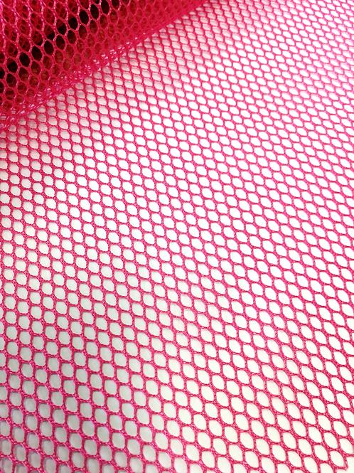 Tissu filet ou Mesh fabric fushia
