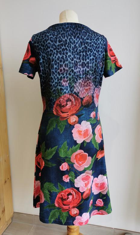 1 - robe femme panneau stenzo roses grim