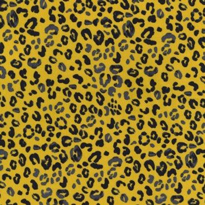 Jersey Léopard jaune moutarde