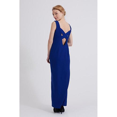 C'est moi le patron robe axelle bleue recto  en vente aux ateliers d'yvonne à kerlouan en France