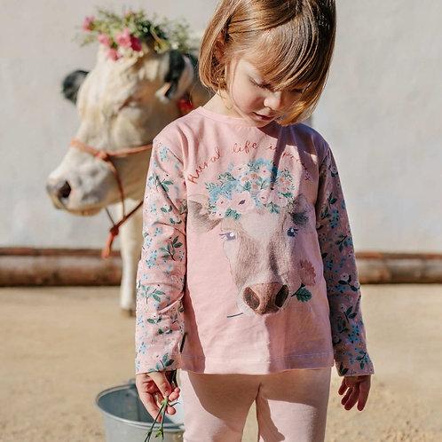 Panneau Jersey Pretty Cow