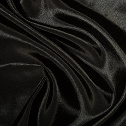 Taffetas uni noir Vente de Tissu Aux Ateliers d'Yvonne à Kerlouan en France