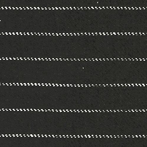 Tissu Viyella Coton Bio Gris Anthracite à rayures