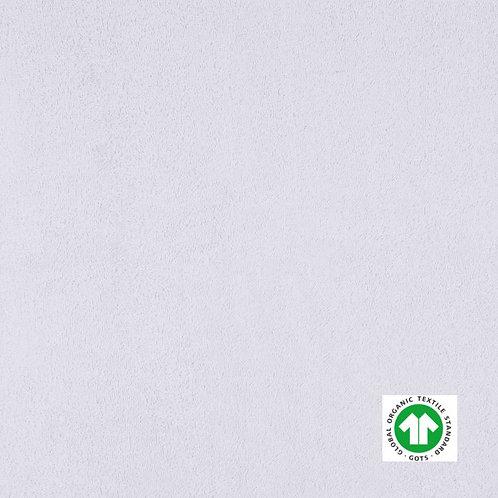 Tissu Éponge Bio Label GOTS Textile Uni Blanc