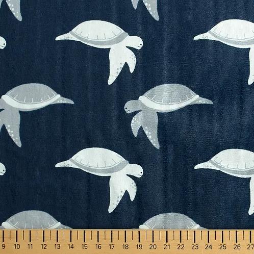 matiere-jersey-bleu-design-tortues-marines-tissu-en-vente-aux-ateliers-dyvonne-a-kerlouan