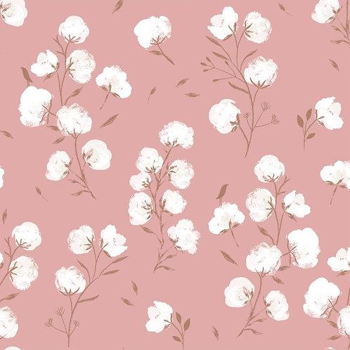 Tissu Softshell Fleurs de coton