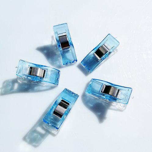 Pinces magiques pour tissus - bleu