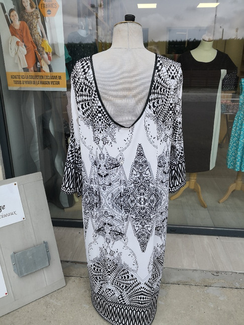 1 - robe Michèle lycra @auxateliersdyvon