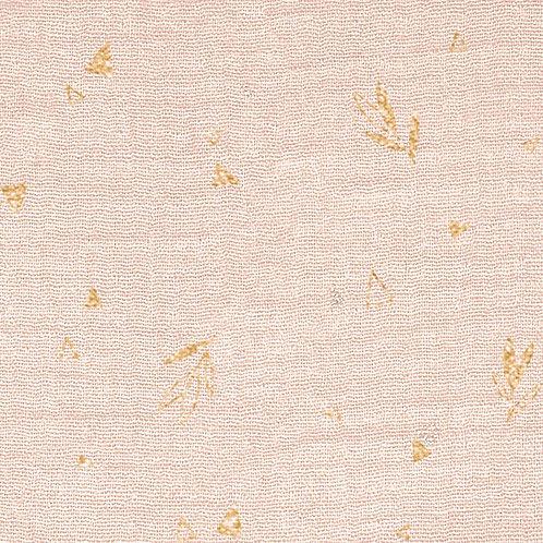 Tissu Mousseline Flowers