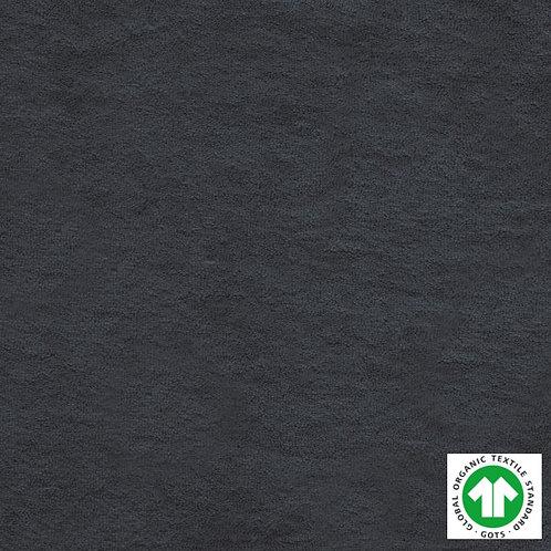 Tissu Éponge Bio Label GOTS Textile Uni Gris