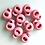 Thumbnail: Bloc cordon rond rose