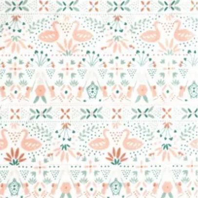 popeline-tissu-fleurs-romantiques-rose-et-vert-sur-textile-blanc-1-en-vente-aux-ateliers-dyvonne-a-kerlouan
