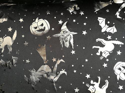 Halloween sorcières et citrouilles
