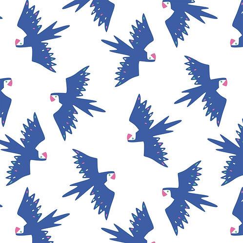 Tissu Toile Canvas Slim Oiseaux Tropique