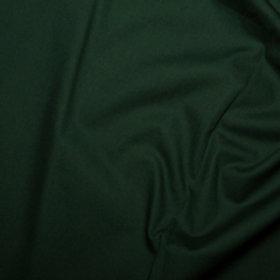 Popeline Couleur Unie Vert Bouteille
