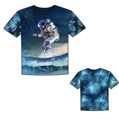 Panneau jersey stenzo cosmonaute surfeur