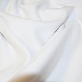 Jersey Couleur Unie Blanc