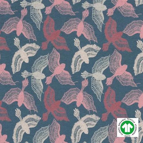 jersey-matière-bio-gots-tissu-interlock-oiseaux-de-paradis-2-en-vente-aux-ateliers-d-yvonne-à-kerlouan