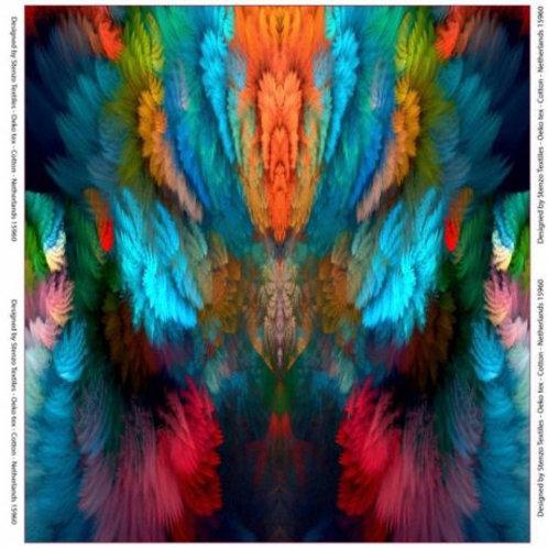 Panneau jersey Stenzo imprimé explosion de couleurs