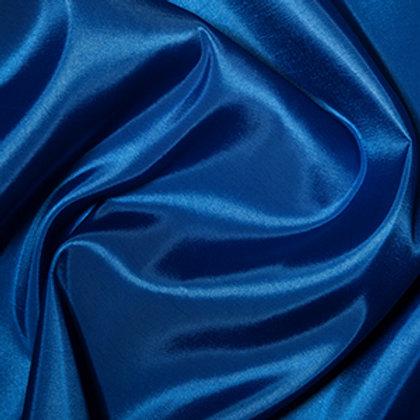 tissu taffetas uni bleu royal vente de tissus aux ateliers d'yvonne à kerlouan en France