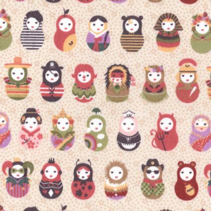 popeline origine coton en vente Aux ateliers d'Yvonne, e-commerce de tissus à Kerlouan en France
