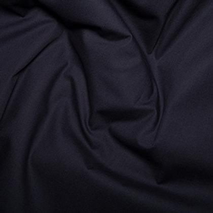 Tissus Matière popeline couleur unie noir AAY e-commerce à Kerlouan en France