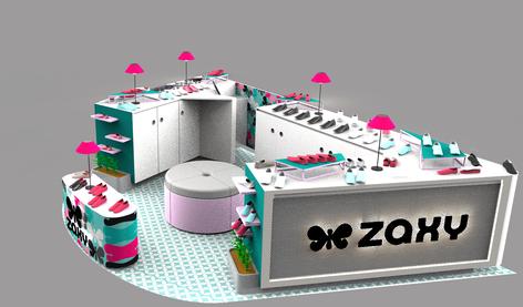 modular mall booth