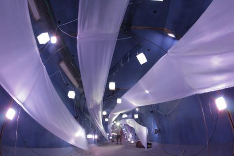 time tunnel for Midburn