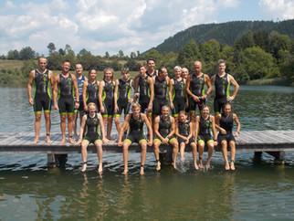 Buona la prima al Kraiger See Triathlon