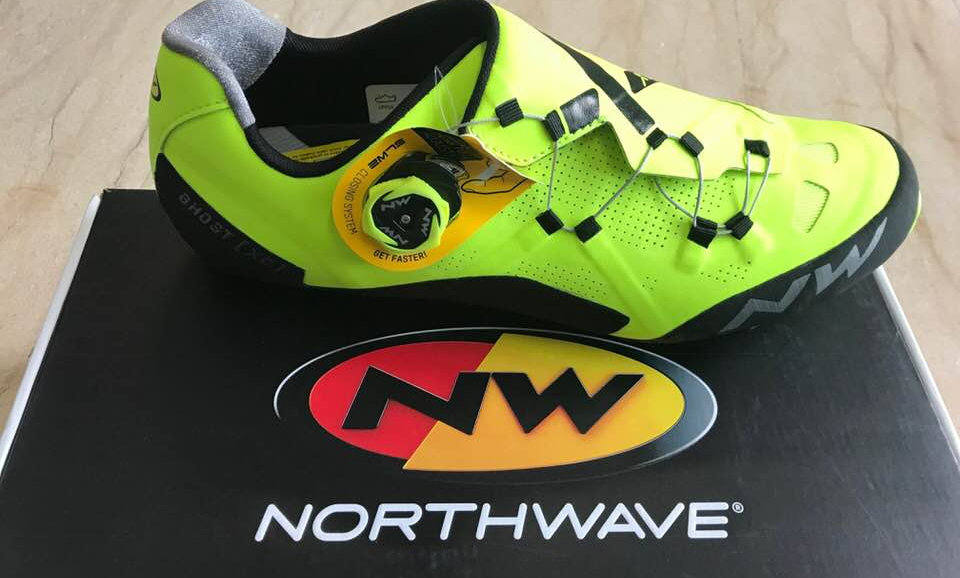 NorthWave Ghost XC 2018.  Scarpa MTB race