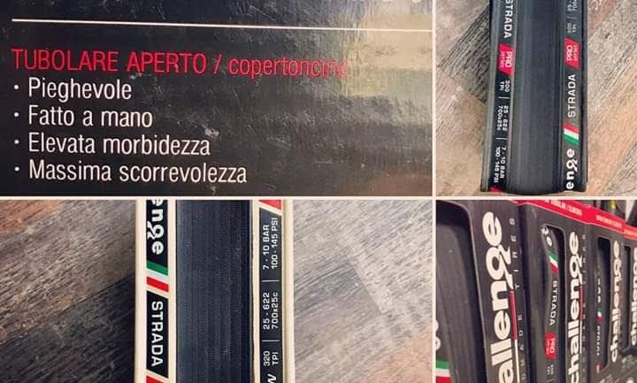 Copertoncini Challenge 700/25 300 e 320 Tpi Pressioni 7/10 bar