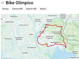 44,8 km Strada Percorso di ciclismo su S