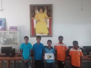 Datamini Tablet distribution to children of Satya Sai foundation