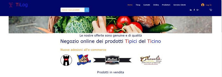 Tilog: Typical Ticino Products.