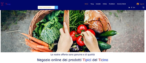 E-commerce in Ticino.