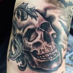 Skull from tonight