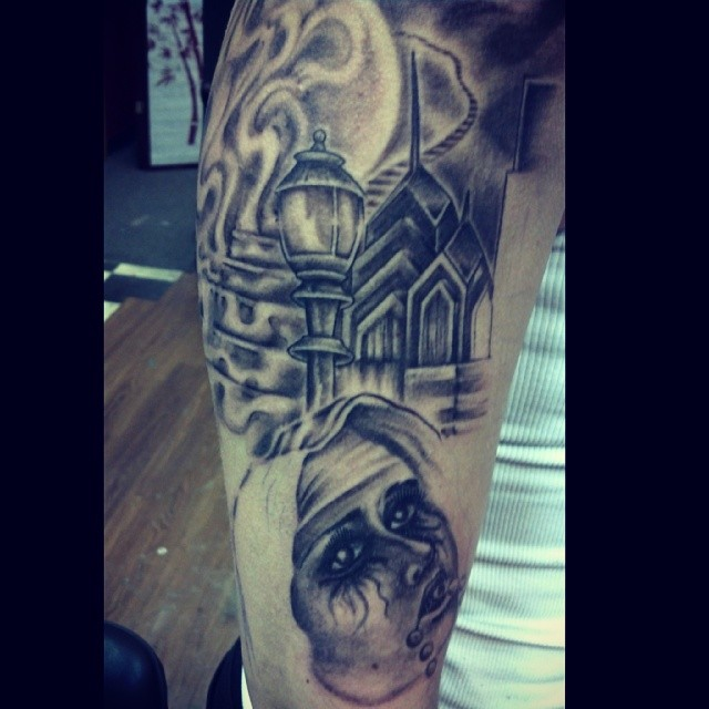 Session 1. Philly skyline, stairway to heaven and a crying nun