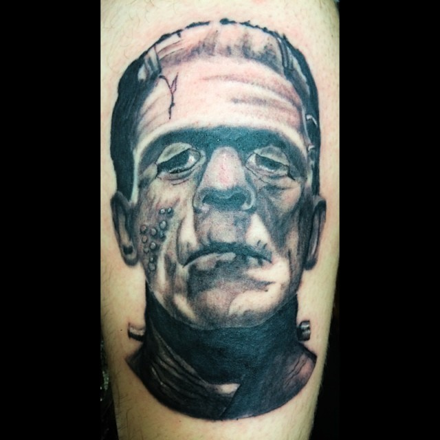 Frankenstein's monster first pass