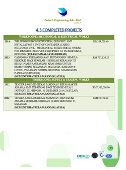 Completed Projects 3
