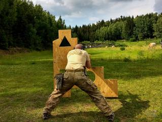 Polohy při střelbě - část V