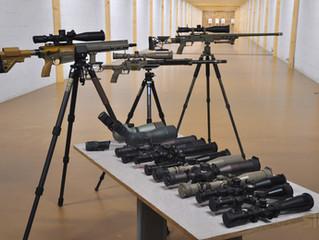 Optický test puškohledů