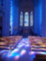 Pontmain l'interieur de la Basilique