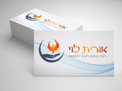 אורית לוי רייקי רפלקסולוגיה עיצוב לוגו