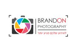 brandon photography עיצוב לוגו צלם