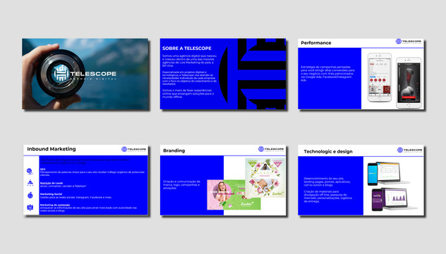 marketing Agency PPT Design