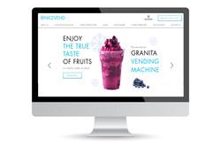 nicevend foodtech website design