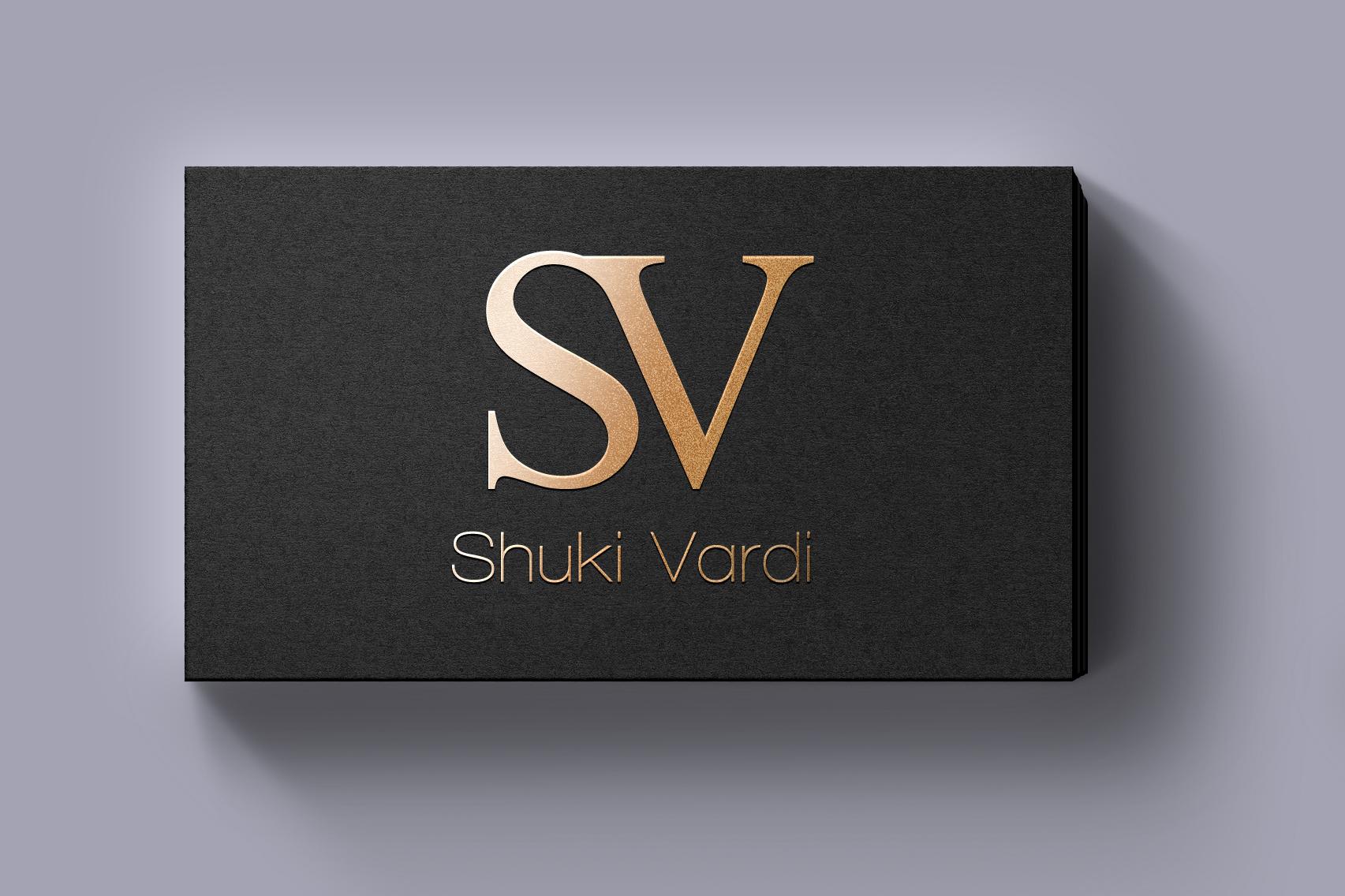 שוקי ורדי עיצוב לוגו