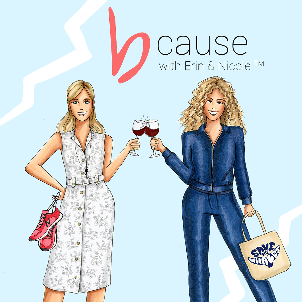 Erin Hatzikostas and Nicole Licata Grant are breaking glass in their own way (and with wine) in this offbeat career inspiring podcast fused with a healthy dose of humor and boatloads of authenticity