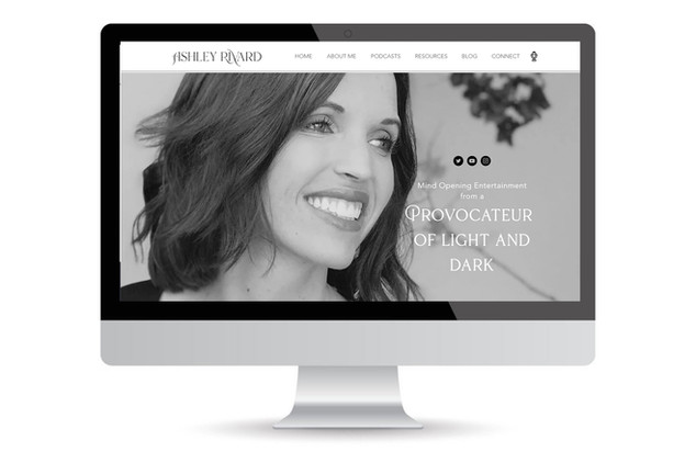 Ashley Rivard website