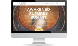 AWAKENED FUTURES SUMMIT Web conference for tech mediation online including...
